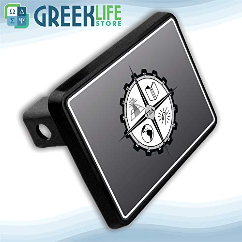 greeklife.store Gamma Zeta Alpha Hitch Cover - Trailer Hitch Alpha Covers