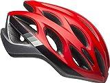 Bell Draft MIPS Adult Bike Helmet (Speed Matte Crimson/Black/Gunmetal (2019), One Size)