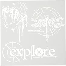 Crafters Workshop Plastic Template 6-inch x 6-inch Winged Exploration by The Crafter's Workshop