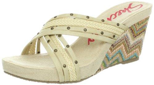 Skechers USA Women's Modiste Waverly Wedge Sandal