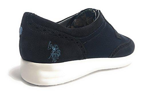 U.S.POLO ASSN. Zapatillas de Tela Para Hombre Beige Beige