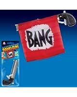 """Loftus Star Power Starter Prank Bang Gun Flag Pistol, Red/Black/White, 5"""""""