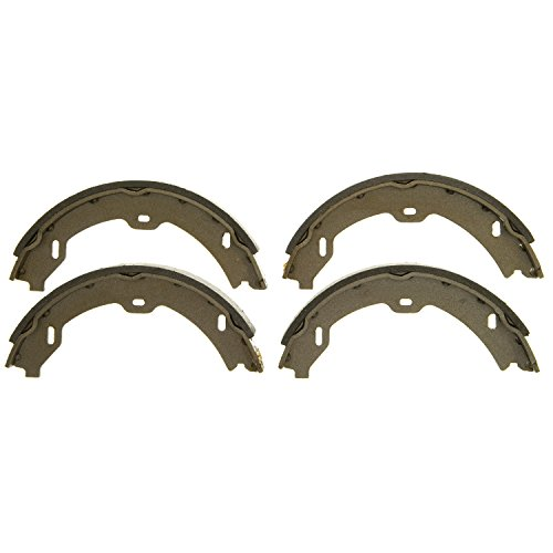 Wagner Z874 Parking Brake Shoe Set, Rear