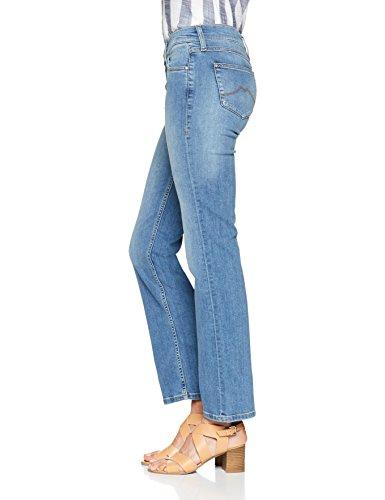 Jeans 5000 Blau Straight Bleach 311 Girls Oregon Donna Mustang medium ECUqx8