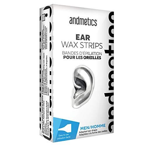 Andmetics Depilatory Strips for Men Ears by Andmetics