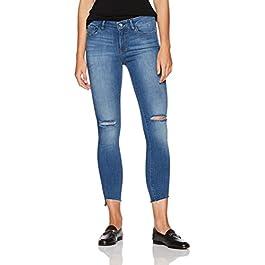 Women's Skinny Ankle Jean with Step Hem