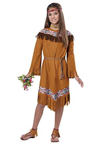 California Costumes Classic Indian Girl Child Costume, X-Large