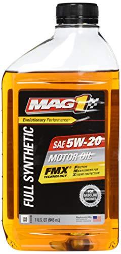 MAG1 61792-pk6 Full Synthetic 5W-20 SN Motor Oil - 32 oz., (Pack of 6)