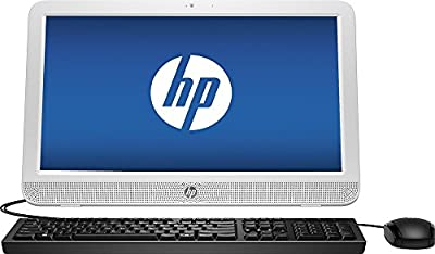 HP Premium All-in-One Desktop PC (2016 Newest Model), 19.45-inch LED Backlight Widescreen HD+ Display, Intel Celeron N3050 1.6GHz Processor, 4GB DDR3 RAM, 500GB HDD, DVD+/-RW, Wifi, Windows 10