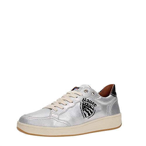 Blauer USA 7SWORETROLW/CRE Sneakers Mujer SILVER 38