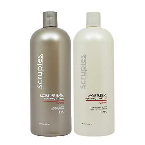 Scruples Moisture Bath Shampoo & Moisturex Conditioner - Bath Shampoo Moisture