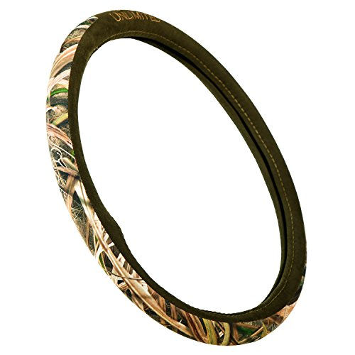 Ducks Unlimited Camo Steering Wheel Cover, Shadow Grass Blades, Truck