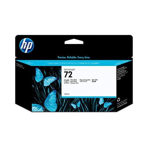 (まとめ) HP72 インクカートリッジ フォトブラック 130ml 染料系 C9370A 1個 〔×3セット〕 B01MQHYE8L