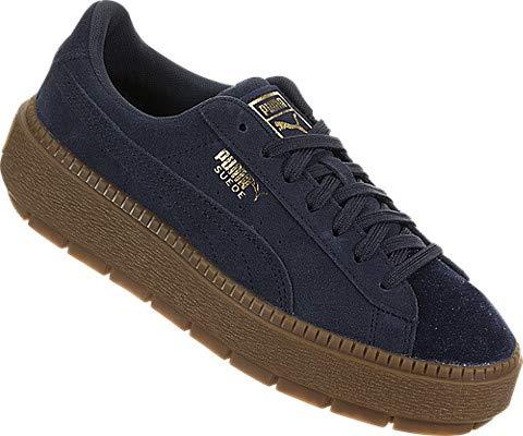 PUMA Unisex-Kids Suede Platform Trace Kids Sneaker