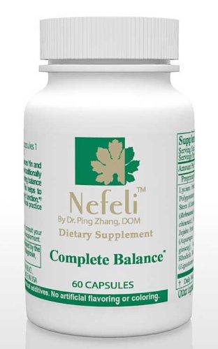 Nefeli completa Balance - la verdadera fuente de salud, todo Natural, 60 cápsulas