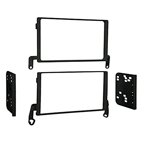 Metra 95-5818 Double Din Dash Kit for Select 1997-2003 Ford, Lincoln, Mercury, Mazda Vehicles - Ford Vehicle Accessories