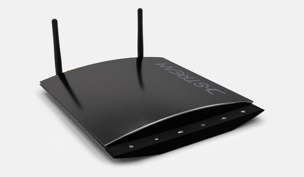 D de Stream wamp de 200SB Receptor Streaming con WiFi, LAN y DLNA y 2x 60W