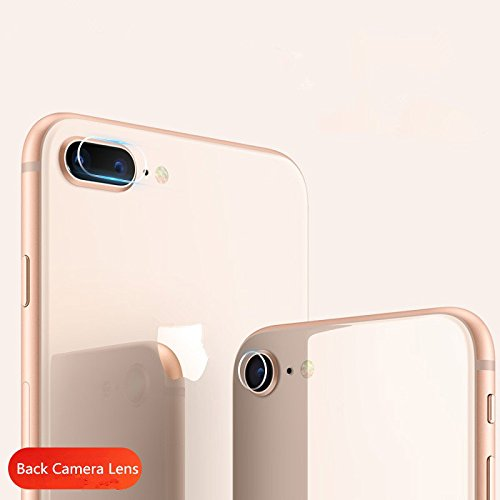superior ZRL 7.5H Back Camera Lens Tempered Glass Protector Guard Cover For iphone 8/iphone8 plus