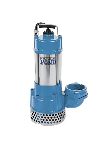 Nashville Pond A-31 General Duty Water Pump 115v 1HP 9000GPH