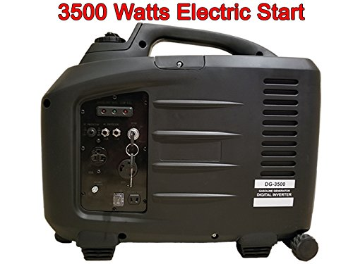 PureWave DG-3500 watt digital inverter generator. Key Start with 20amp & 30amp outlets