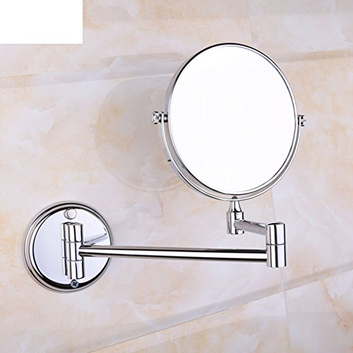 Low Cost Bathroom Copper Vanity Mirror Magnifying Glass Mirrors Folding