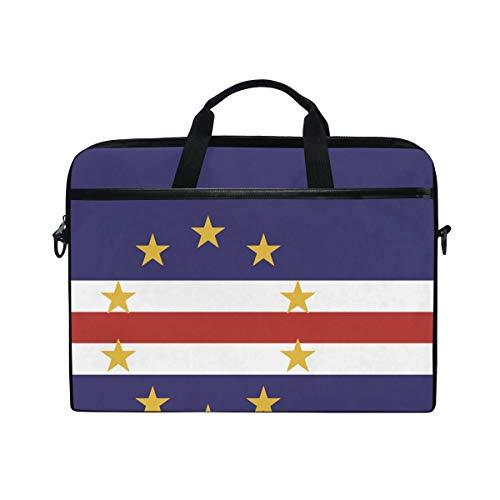 - Ainans Cape Verde Flag 15 inch Laptop Case Shoulder Bag Crossbody Briefcase Messenger Sleeve for Women Men Girls Boys