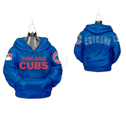 Chicago Cubs Hoodie Ornament