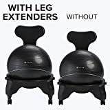 Gaiam Classic Balance Ball Chair Leg Extenders