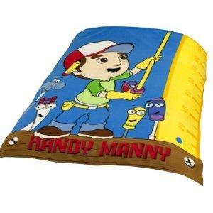 Handy manny work fleece blanket kids room for Handy manny decorations