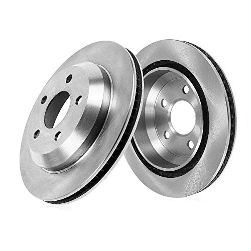 CRK15267 REAR Premium Grade OE 333.7 mm [2] Rotors Set [ for Honda Ridgeline 2006-2011 ]