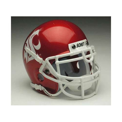 NCAA Washington State Cougars Collectible Mini Helmet, Crimson (State Washington Helmet Cougars)