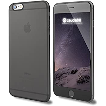 Caudabe The Veil Ultra-Thin Case for iPhone 6 Plus / 6S Plus - Wisp Black (Retail Packaging)