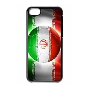 Lycase(TM) Football Soccer Flag Customized Phone Case, Football Soccer Flag Iphone 5C Protective Case