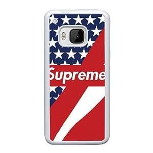 Printed Cover Protector HTC One M9 Cell Phone Case White Supreme Crann Unique Design Cases