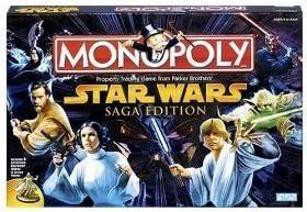 Monopoly - Star Wars Saga Edition by Parker Brothers: Amazon.es: Juguetes y juegos