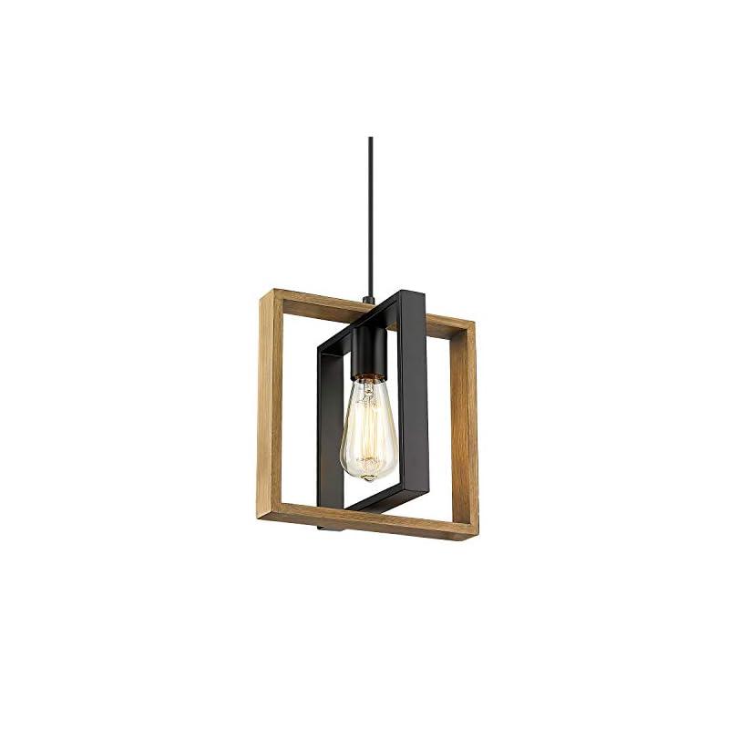 Ken & Ricky Kitchen Island Lighting, Farmhouse Pendant Light, Vintage Ceiling Hanging Light Fixture for Dining Room…