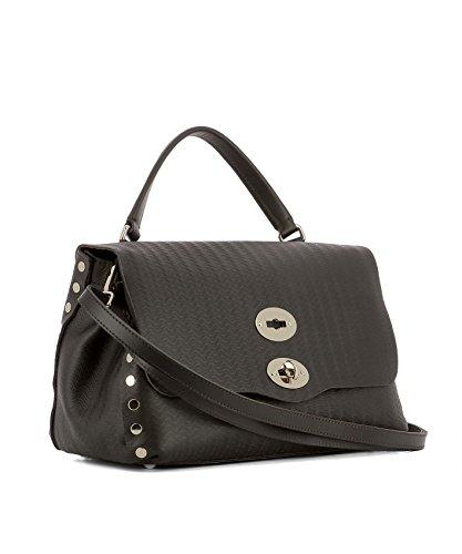 61386011 Braun Damen Zanellato Leder Handtaschen Tx5pw5OAq