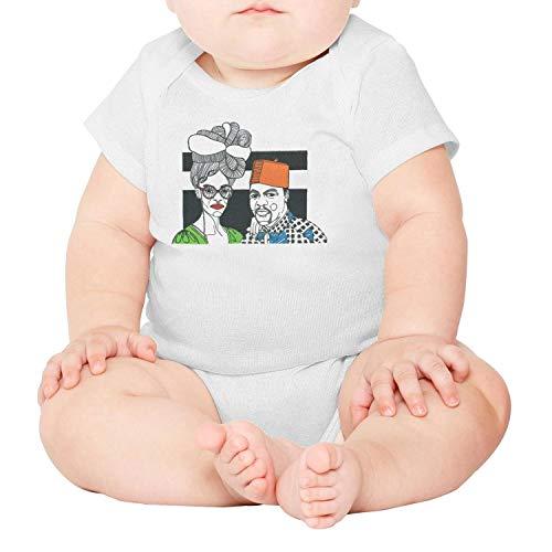 (Ngjdshfk Babies 0-24 Months afroPunk Fest Cotton 100% Organic Cotton Short Sleeve Baby Onesie)