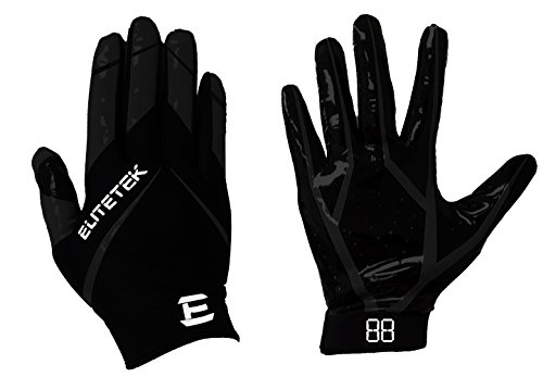 EliteTek RG-14 Football Gloves Youth and Adult – DiZiSports Store