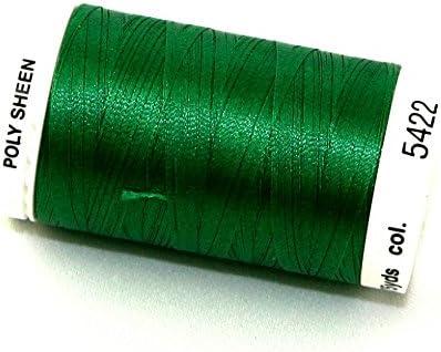 /par bobine Mettler polysheen Polyester fils /à broder machine 800/m 800/m 5422/Swiss Ivy/