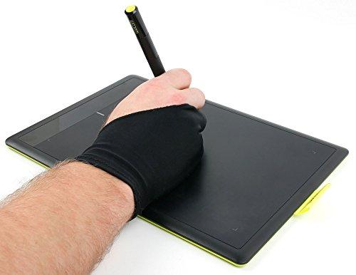 DURAGADGET 2-Finger Anti-Fouling Drawing Glove with High Ela