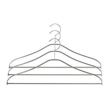 Ikea Kleiderbügel ikea grundtal kleiderbügel 3tlg aus edelstahl amazon de küche