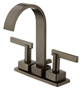Schon SCL450ORB 2-Handle Minispread Lavatory Faucet, Oil Rubbed Bronze