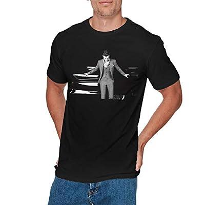 GEORGE MANNING Mens Fashion Justin Timberlake, T-Shirts Black