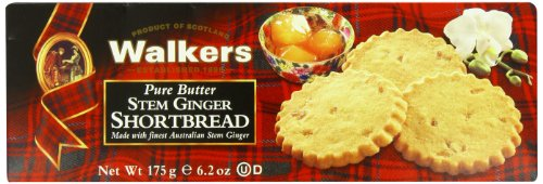 Walkers Stem Ginger Shortbread-6.2 (Shortbread Thins)