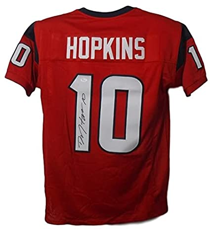 deandre hopkins red jersey