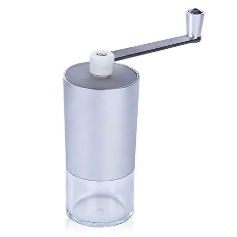 Amoladora de café manual Amoladora de café de aluminio Máquina de molino de café Fresa manual