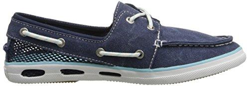 Columbia Damen Vulc N Vent Boat Canvas Bootschuhe Blau - Bleu (464)