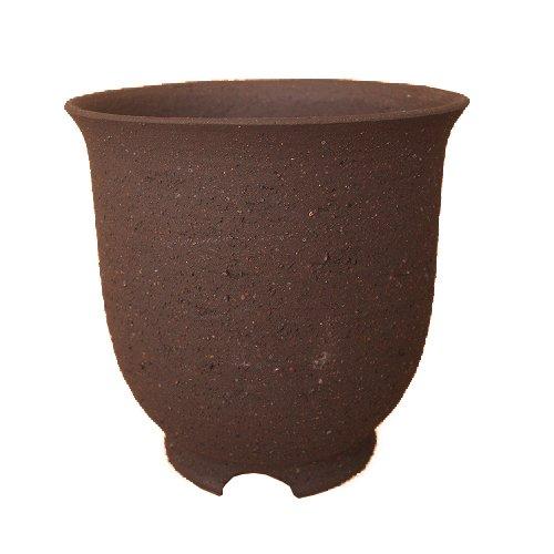 常滑焼 ウ泥荒土 雪割草鉢 4号 10個入り 植木鉢 B0165AQPL6 4号  4号