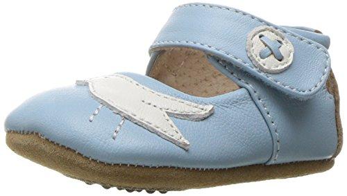 Powder Blue Kids Shoes (Livie & Luca Girls' Pio Mary Jane, Powder Blue, 6-12 Months M US Infant)